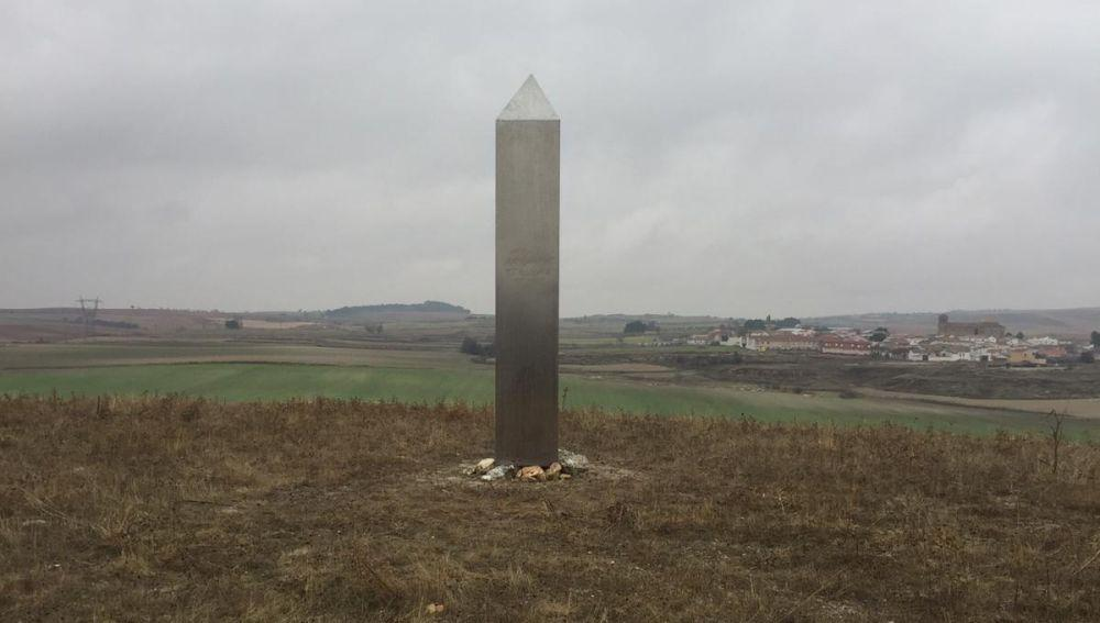 Photo of the monolith as of December 21st 2020.